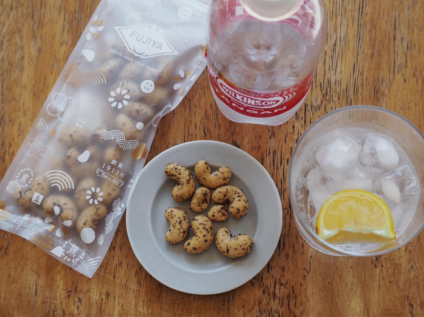 豆菓子とペアリング