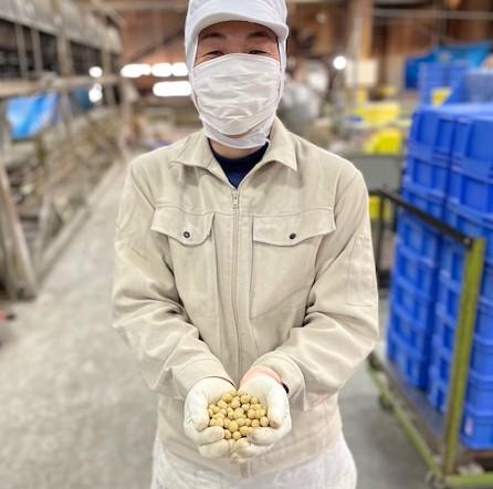 ルーキー職人とのこり福豆